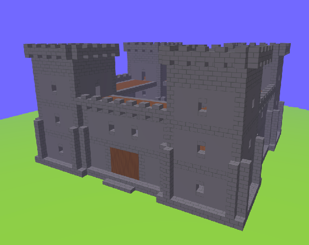 A Voxel Fort!